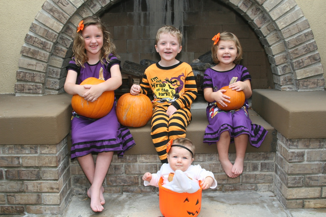 2011 Halloween card photo