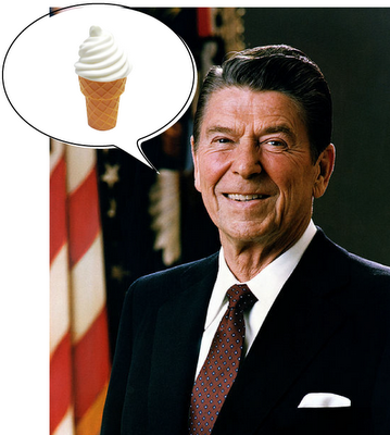 President-Regan-and-National-Ice-Cream-Day