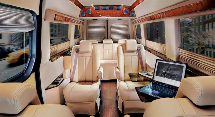 Mercedes Benz Sprinter Grand Edition Interior